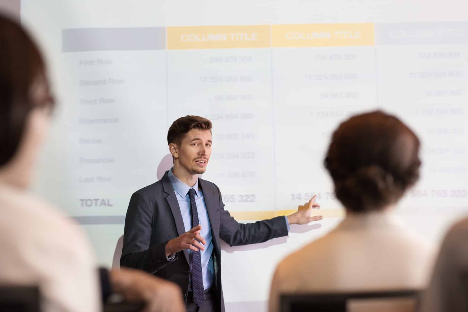 How to make an effective sales presentation