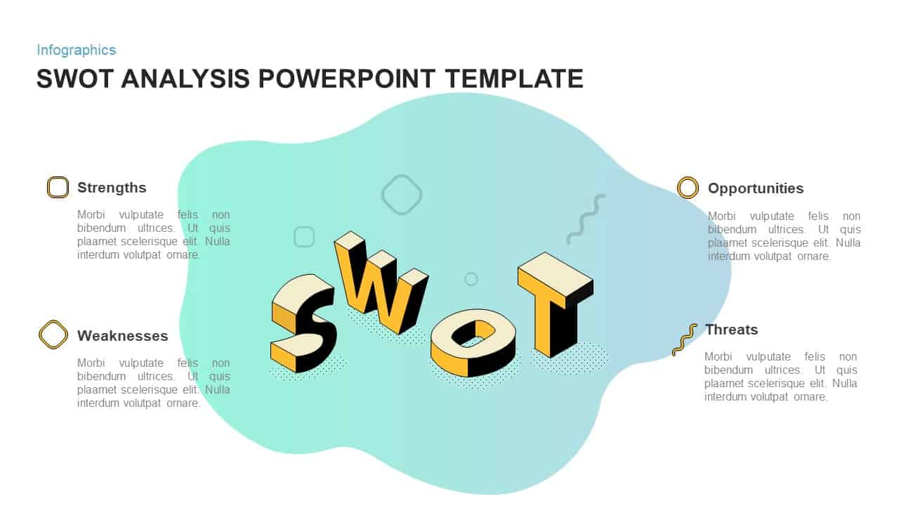 Swot Word Template from slidebazaar.com