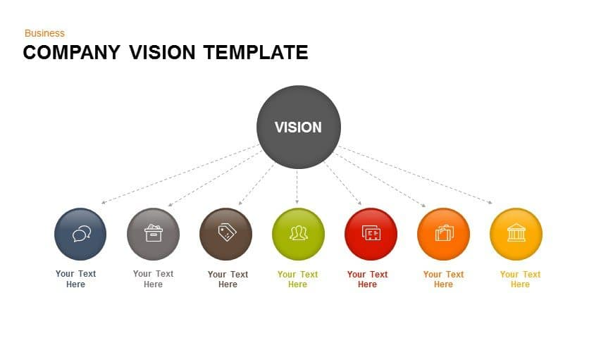 Company vision PowerPoint template