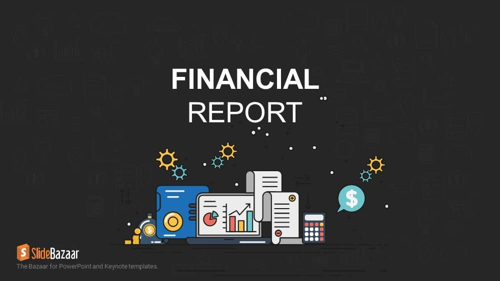 Financial Report PowerPoint Template