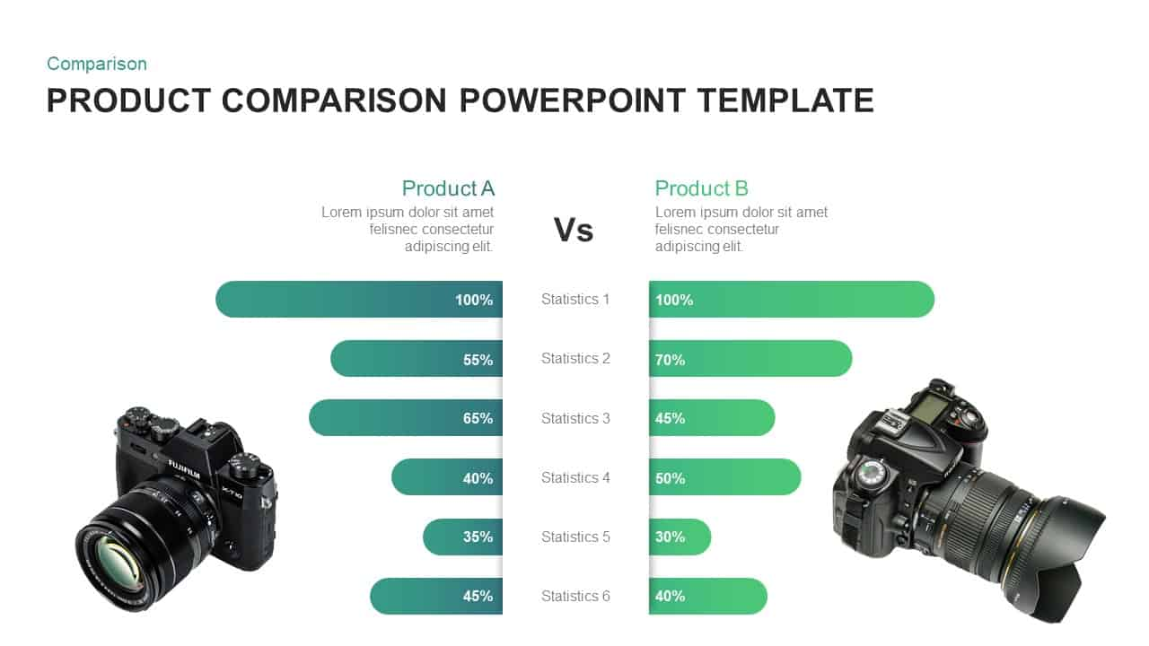 Product Comparison PowerPoint Template