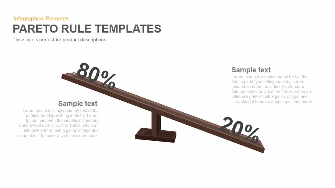 Pareto PowerPoint template