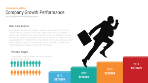 Company Performance Business Growth PowerPoint Template