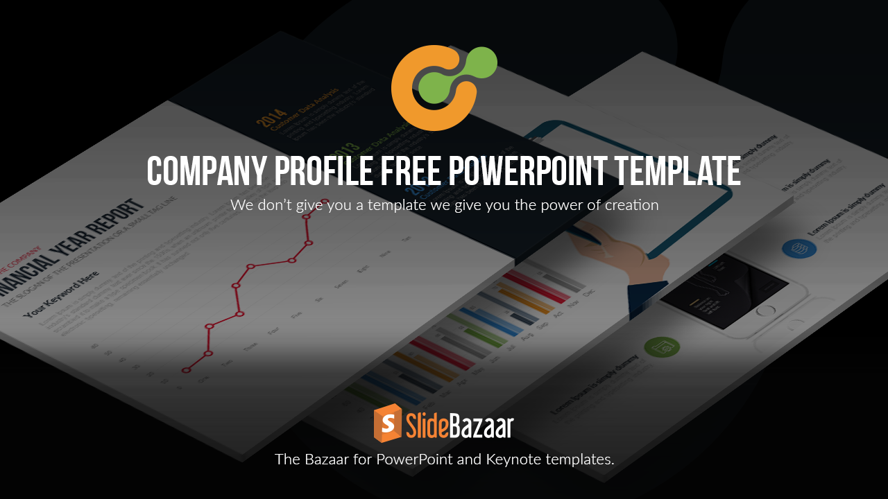 Company Profile PowerPoint Template Free