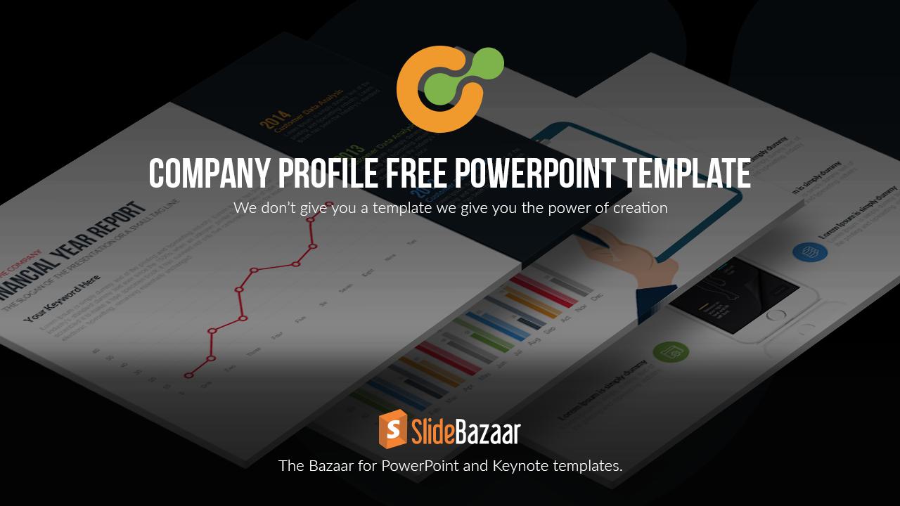 Company Profile PowerPoint Template Free - Slidebazaar