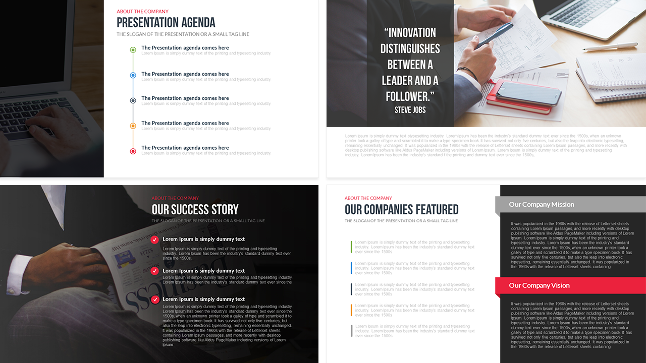 Design company profile template idealstalist design company profile template wajeb Images