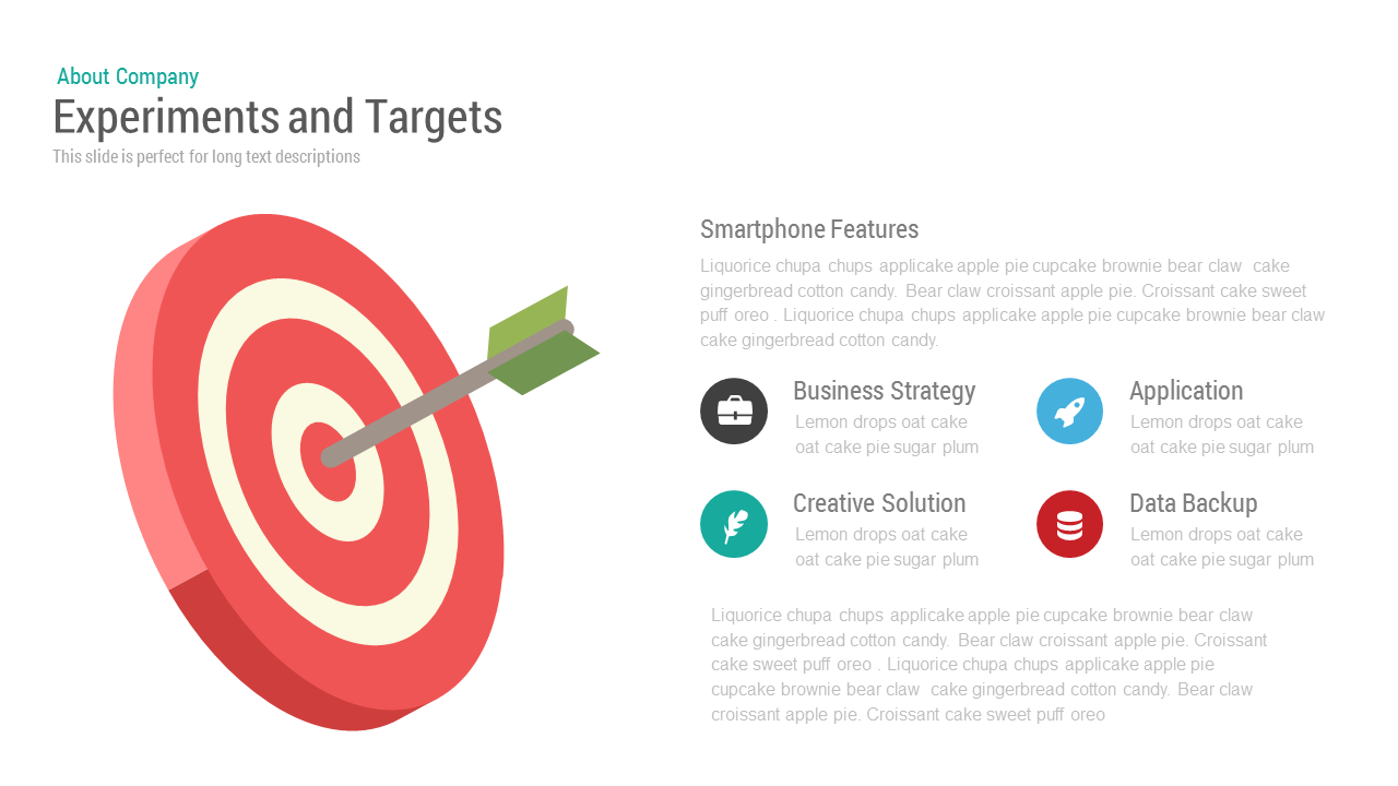 Experiments and Target PowerPoint and Keynote template
