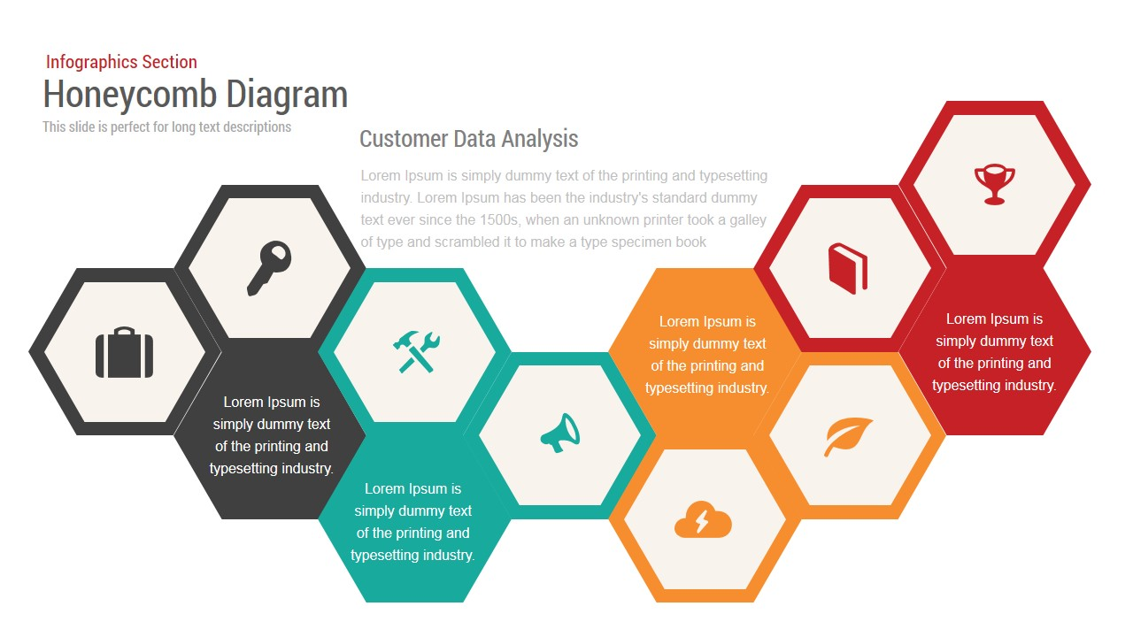 Honeycomb Diagram Powerpoint Template Slidebazaar