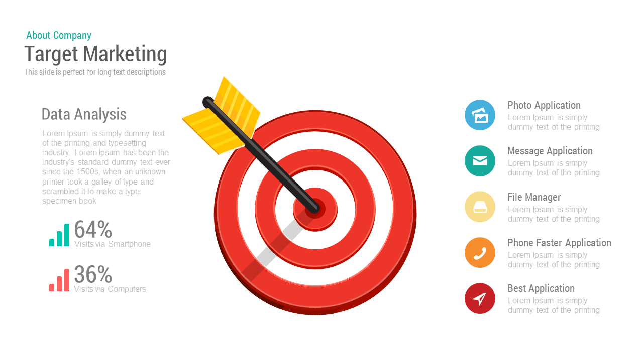 Target Marketing PowerPoint and Keynote template