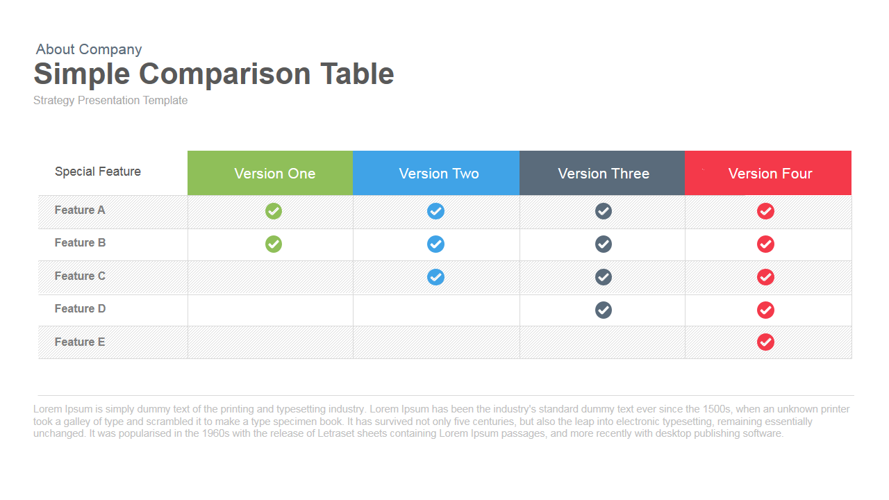 download free, software Compare Contrast Template Microsoft