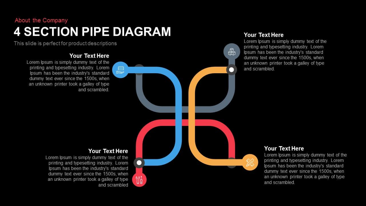 4 Section Pipe Diagram