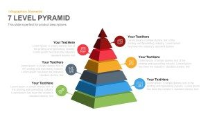 7 Level Pyramid Template for PowerPoint and Keynote