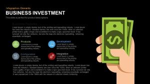 Business Investment PowerPoint Template and Keynote Slide