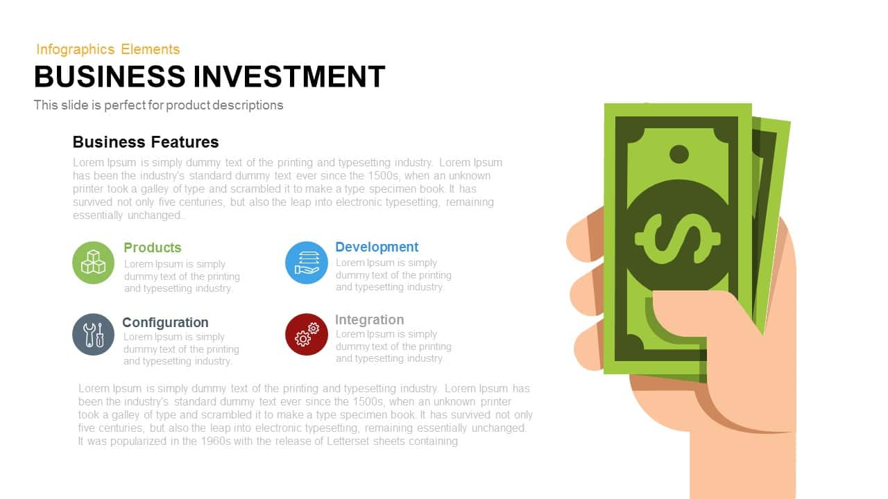 Business Investment Template for PowerPoint and Keynote