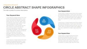 Abstract Circle Shapes Infographics PowerPoint Template and Keynote
