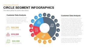 Circle Segment Infographics PowerPoint and Keynote Template