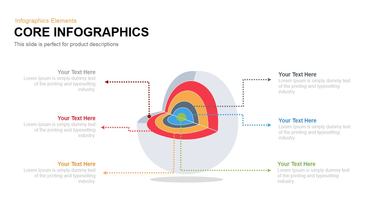 Core Infographics PowerPoint Template and Keynote Slide