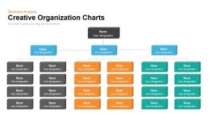 Creative Organization Chart Template for PowerPoint & Keynote