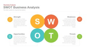 Business SWOT Analysis PowerPoint Template and Keynote Slide