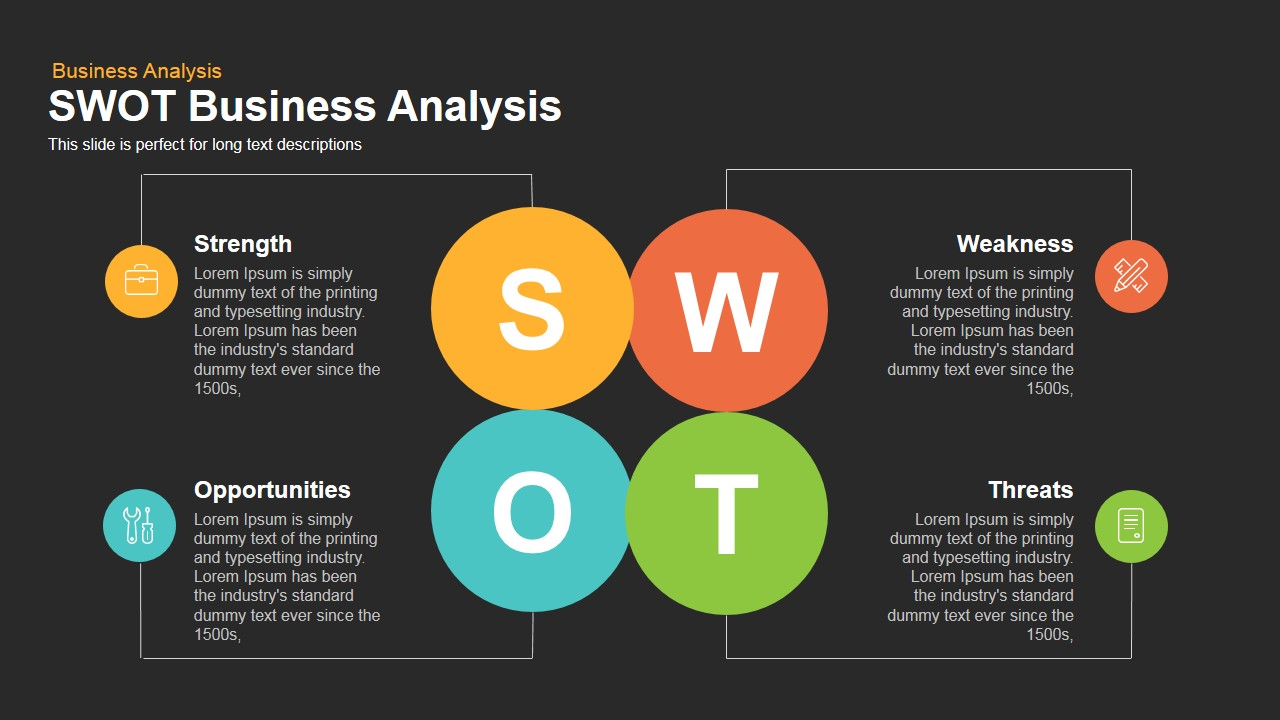SWOT Business Analysis Powerpoint and Keynote template1