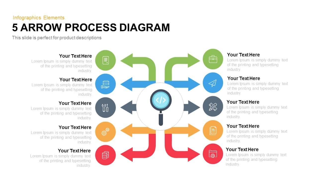 arrow process diagram