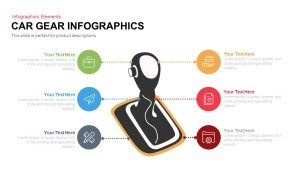 Car Gear Infographics PowerPoint Template and Keynote Slide