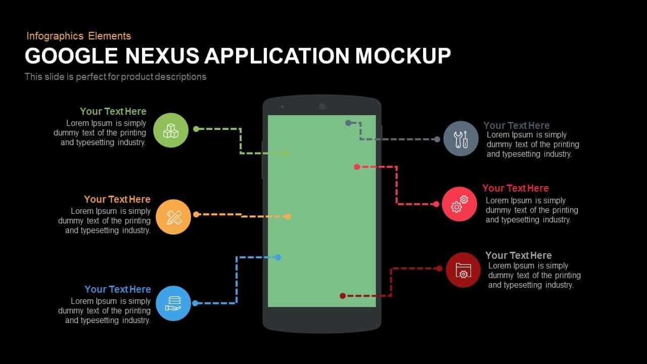 google nexus application mockup