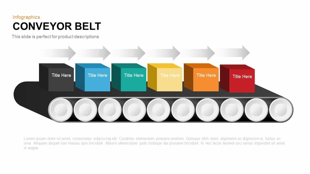 Conveyor Belt PowerPoint Template and Keynote Slide