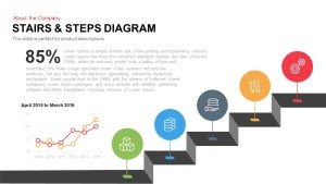 Stairs & Steps Diagram for PowerPoint and Keynote Template