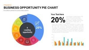 Business Opportunity PowerPoint Pie-Chart Template