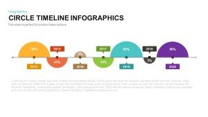 Circle Timeline Infographic PowerPoint Template and Keynote Slide