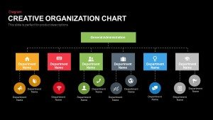Creative Organization Chart PowerPoint Template and Keynote