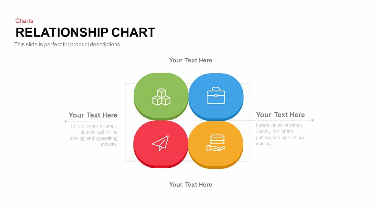 Relationship Chart PowerPoint Template and Keynote Slide