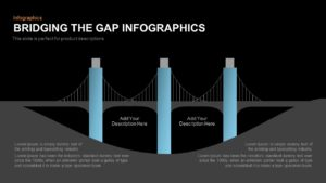 Bridging the Gap Infographics PowerPoint Template and Keynote Slide