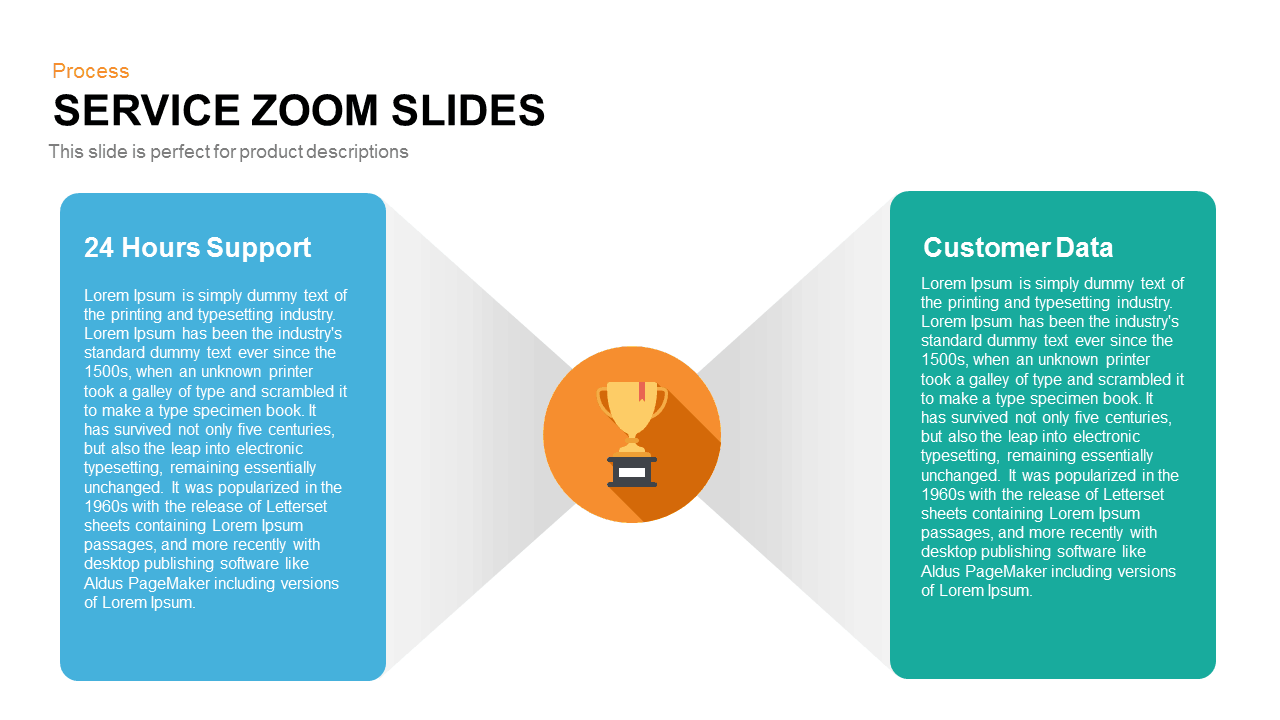 Service Zoom Slides for PowerPoint and Keynote Presentation