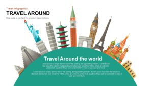 Travel Around the World PowerPoint Presentation Template