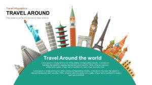 Travel Around the World PowerPoint Presentation Template
