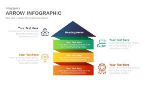 Infographic Arrow PowerPoint Template and Keynote Slide