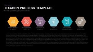 Hexagon Process Template for PowerPoint & Keynote