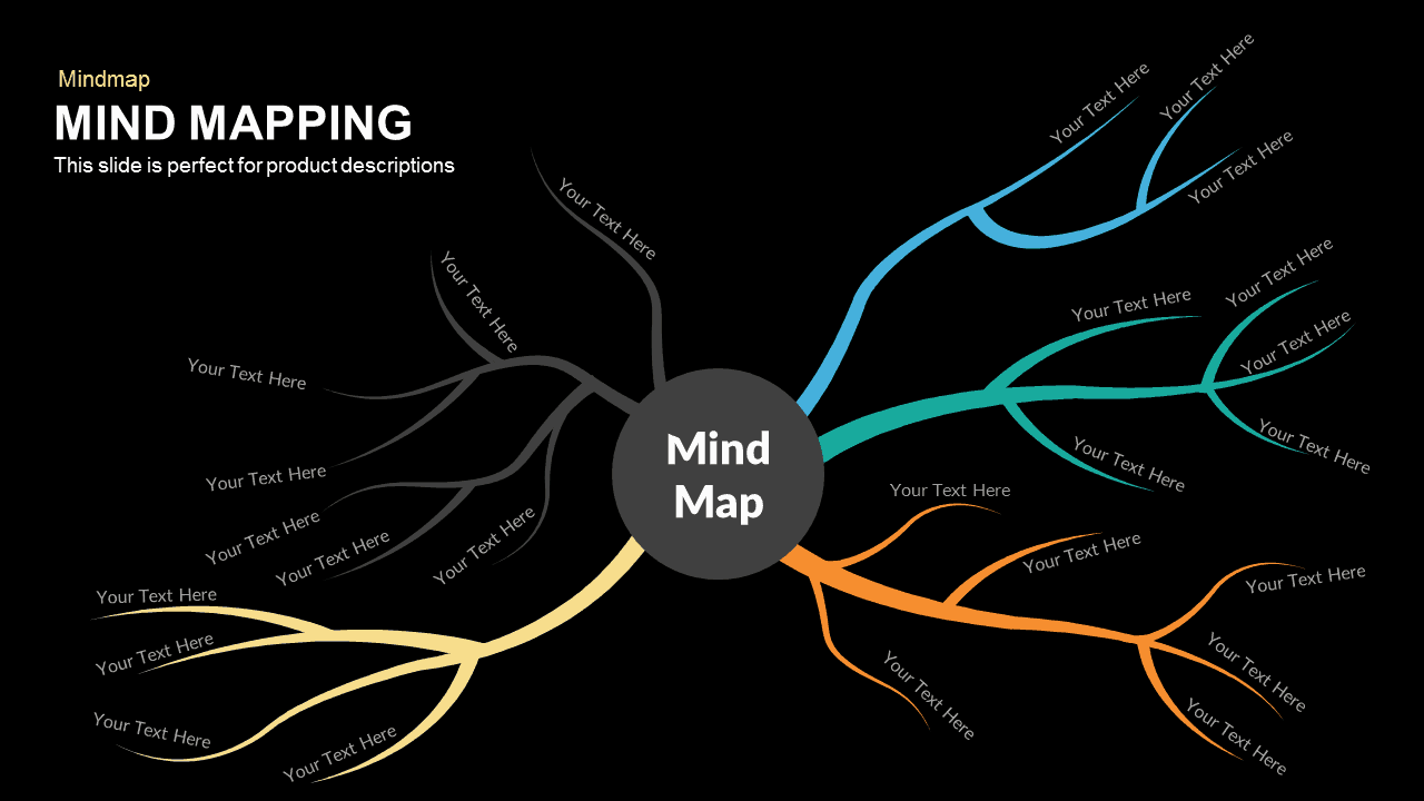 Mind Mapping Powerpoint Template And Keynote Slidebazaar