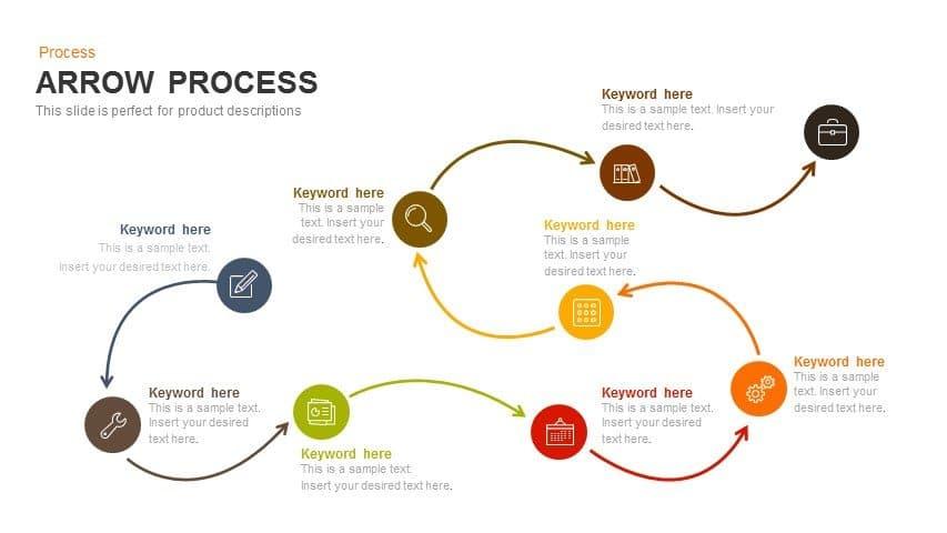 Process Arrows PowerPoint Templates & Keynote template