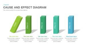 Cause and Effect Diagram PowerPoint Template and Keynote Slide