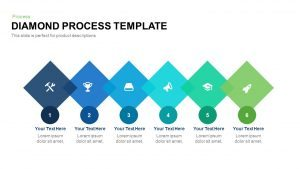 Diamond Process Template for PowerPoint and Keynote