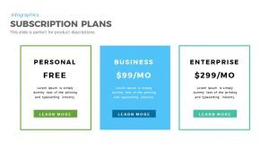 Subscription Plan Template for PowerPoint and Keynote