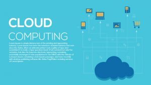 Metaphor Cloud Computing PowerPoint Template and Keynote