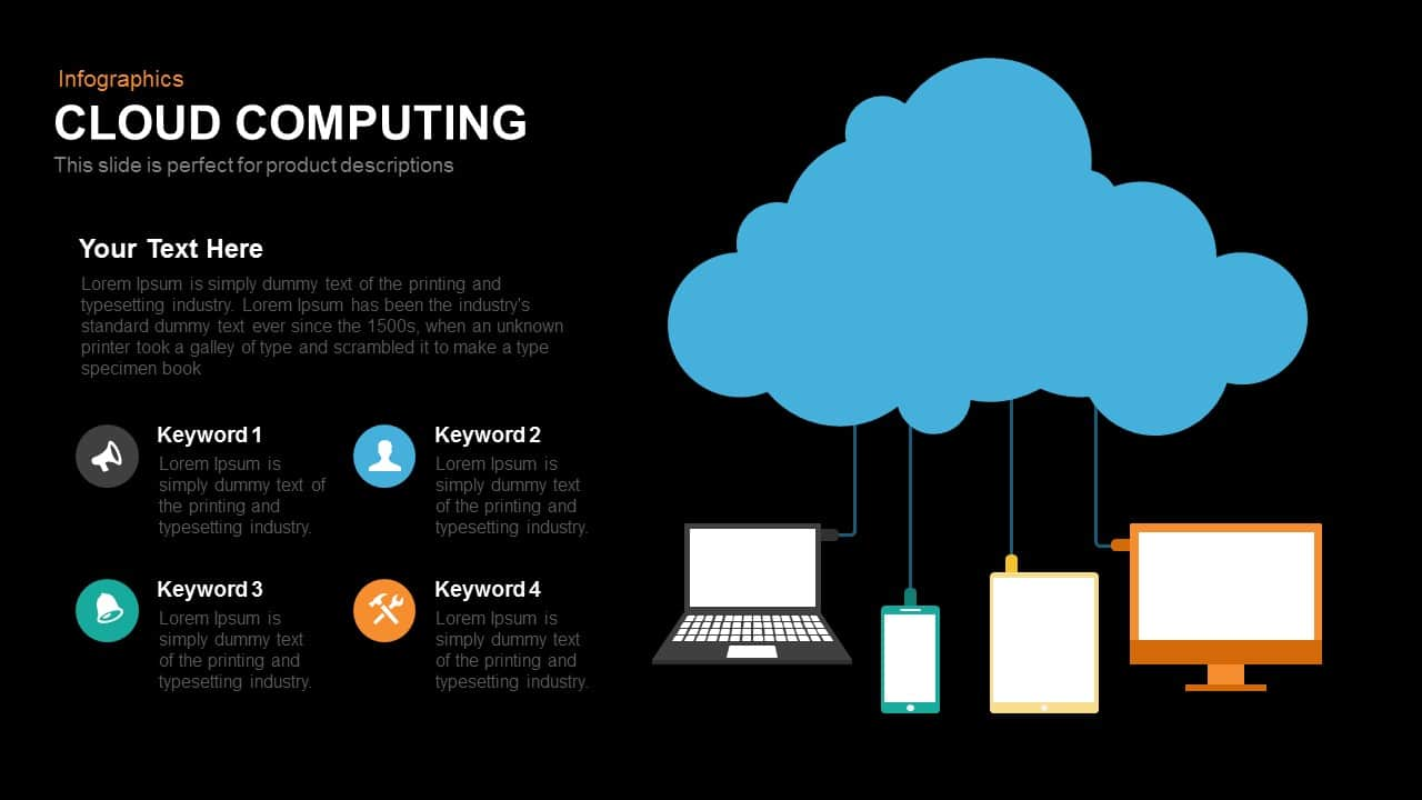 Cloud Computing Powerpoint and Keynote template