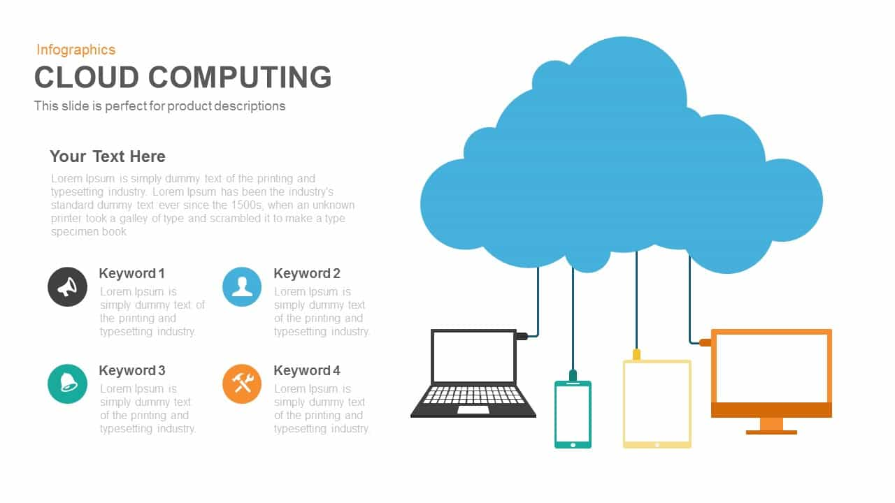 cloud computing powerpoint template and keynote