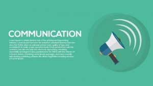 Metaphor Communication PowerPoint Template and Keynote