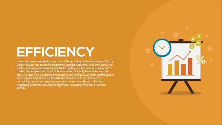 Efficiency PowerPoint Template
