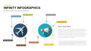 Infographics Infinity PowerPoint Template and Keynote Slide